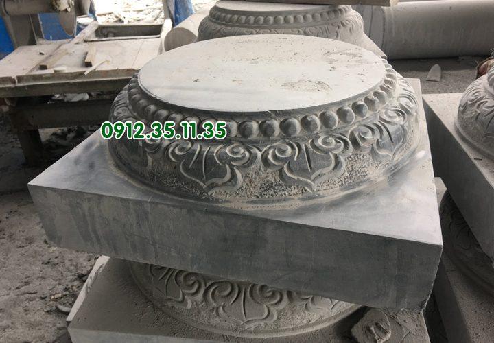 mẫu chân cột nhà , đình chùa.