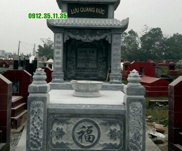 mộ đá ba mái MN24 1