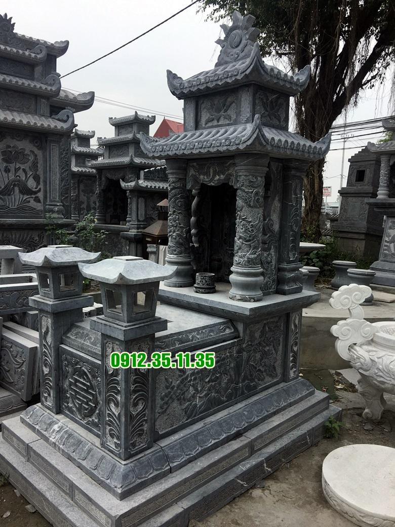 Mẫu mộ hai mái đá