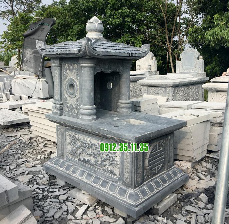 mộ đá đẹp một mái