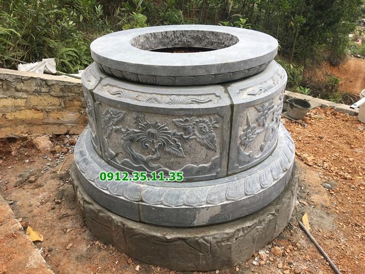mộ đá mộ tròn