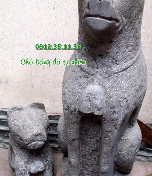 tượng chó đá phong thủy