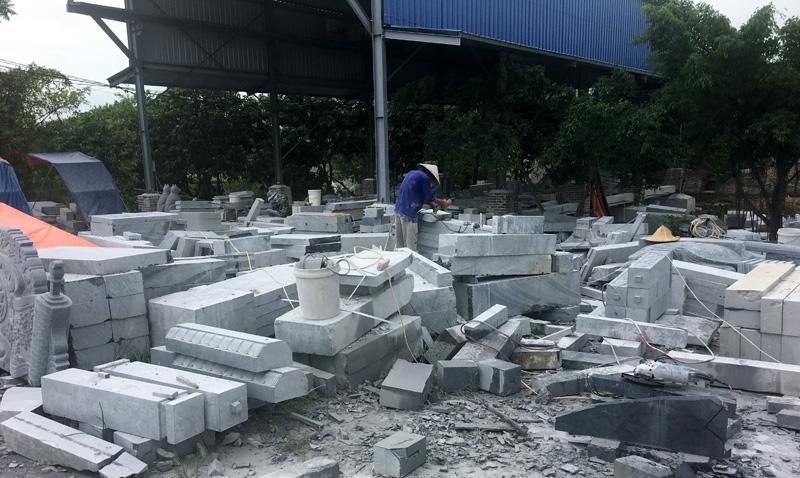 Xưởng chế tác đá Ninh Bình