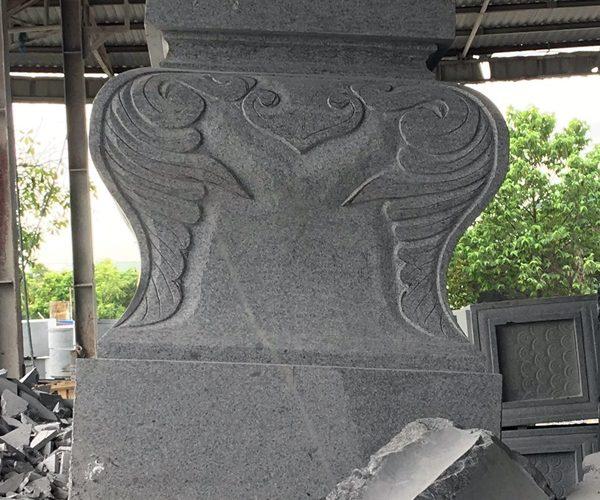Đế cột trụ đá granite